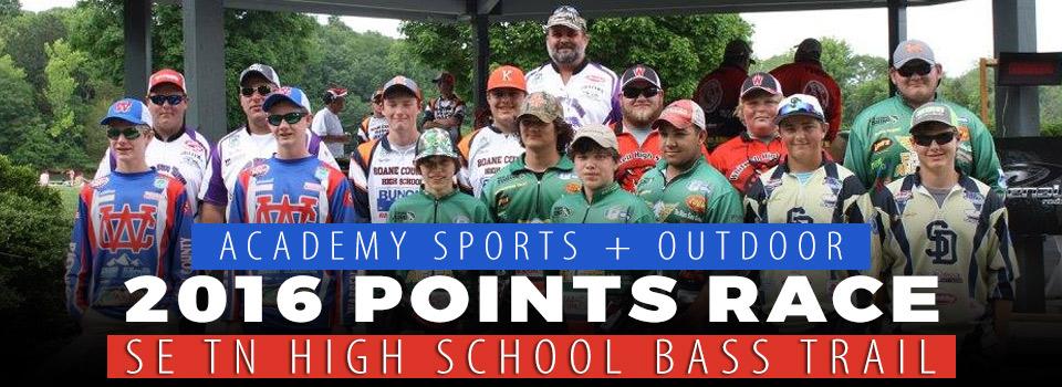 Warren County High School's Matthew and Samuel Vandagriff win 2016 SE TN High School Bass Trail Points Race